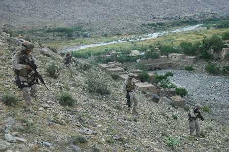Metharlam, Afghanistan - Kilo Company 3/3 Marines
