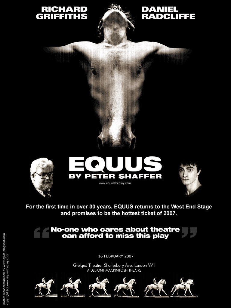an overview of the plot and settings of peter shaffers brutal play equus