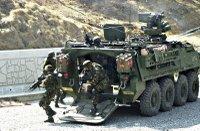 Popis bojových vozidel Stryker