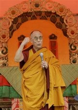 His Holines the 14th Dalai Lama of Tibet