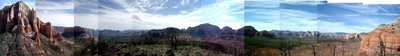 Brin's Mesa panorama