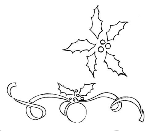 Dibujos Para Pintar De Navidad
