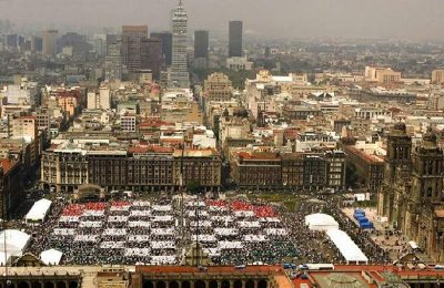 13,000 people playing chess in Mexico City (Photos)
