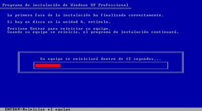 Instalar windows xp paso a paso