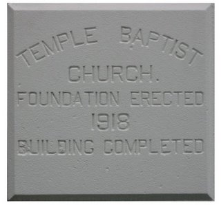 Cornerstone, First Congo Church