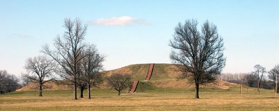 Monk's Mound, near Collinsville, Illinois
