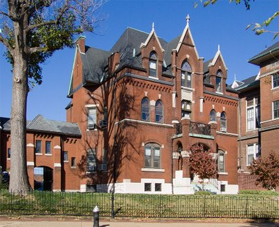 Saint Agatha Roman Catholic Church, in Saint Louis, Missouri - rectory