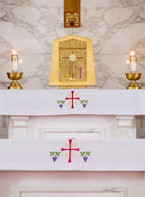 Tabernacle of Saint Raphael Catholic Church, in Saint Louis, Missouri