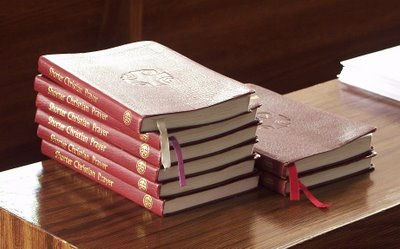 Breviaries in Saints Peter and Paul Church, in Waterloo, Illinois