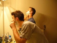 Simultaneous Shave