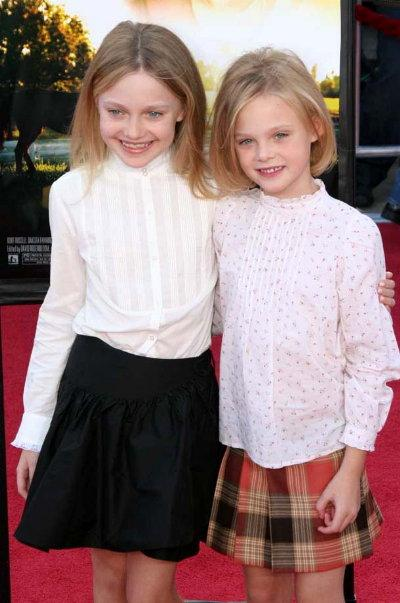 Watch Out World: The Fanning Sisters Are Taking Over ... I Am Sam Elle Fanning