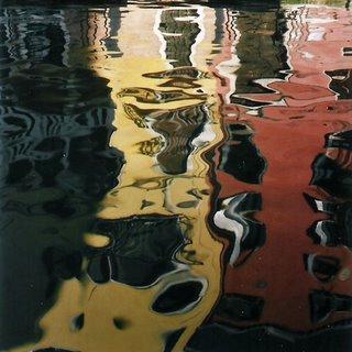 reflets sur l'eau de Venise