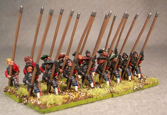 Austrian Pikemen