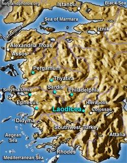 Villa romana descoberta na cidade antiga de Laodicea