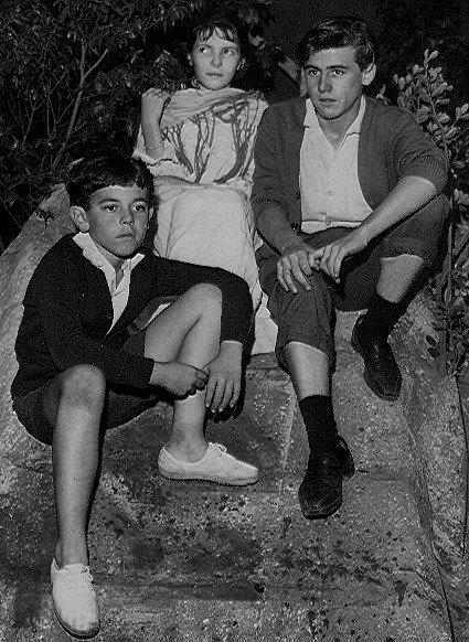 Ivan José, Virgínia Mantovani e Henrique Ogalla ( TV DE VANGUARDA e TV DE COMÉDIA )