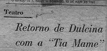 TIA MAME - ESTRÉIA NO TEATRO