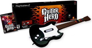 El pack de Guitar Hero mas el mando guitarra...