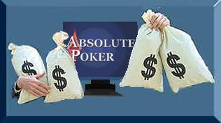 Poker Source Online can help you start up a real money account on Absolute Poker without even making a deposit.  Click on this here picture for details.