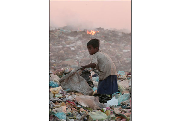 Let's save our children from our trash.