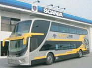 aeroline scania bus
