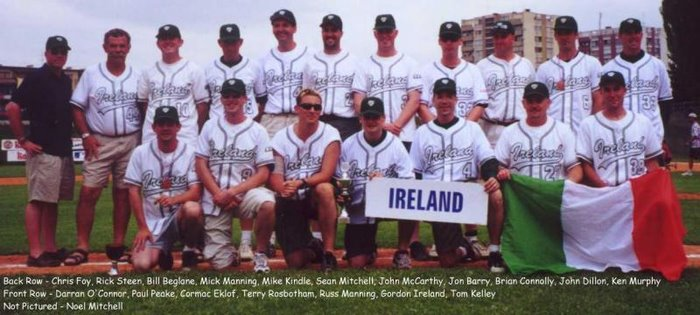 Irish National baseball team