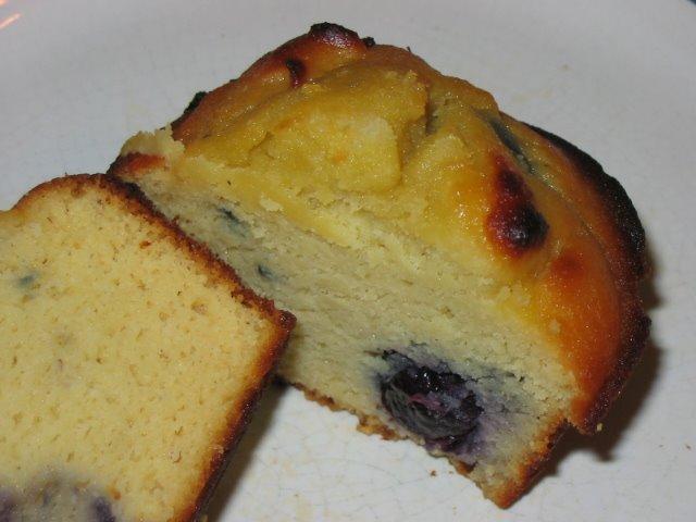 gluten-free coconut blueberry muffins