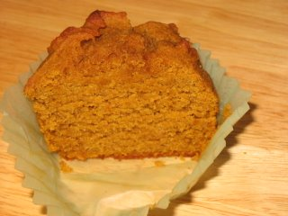 gluten-free pumpkin muffins