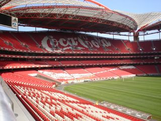 Est dio da luz for Piso 0 estadio da luz