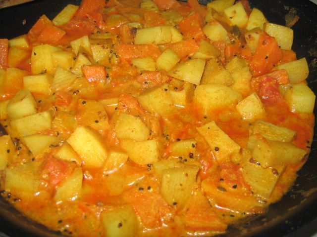 Potato and pumpkin recipes