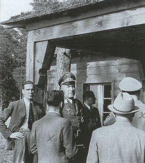 Рейхсминистр Тодт в Bärenhöhle