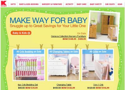 Kmart targets mothers and moms-to-be