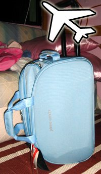 My new Pierre Cardin luggage for only $42! From mustafa!