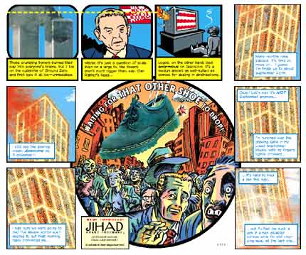 In the Shadow of No Towers Pantheon Graphic Novels