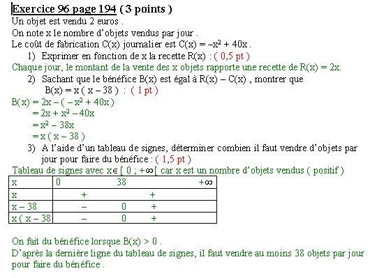Maths en seconde au Lycée français de Montévidéo ( Uruguay ...
