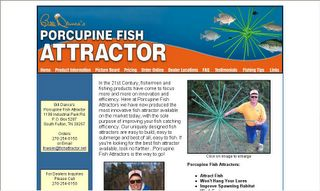 The flyfishmagazine blog november 2006 for Porcupine fish attractor