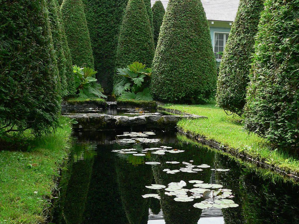Vu par eric entre charlevoix et montr al jardin d 39 eau for Jardin 4 vents