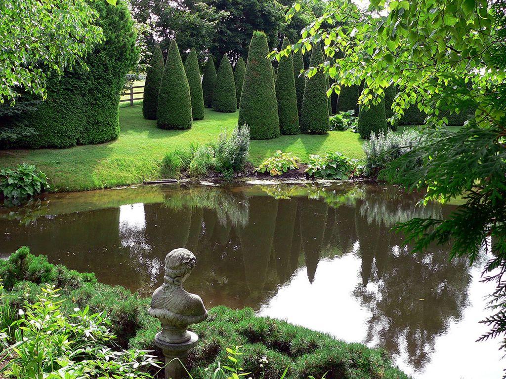Vu par eric entre charlevoix et montr al jardins des for Jardin 4 vents