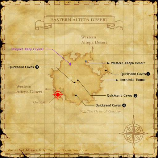 how to get to eastern altepa ffxi