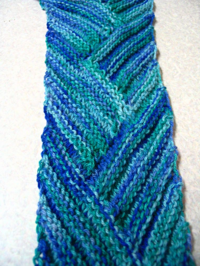 Knitting Pattern For Multi Directional Scarf : Multi-Directional Scarves Knitting Musings