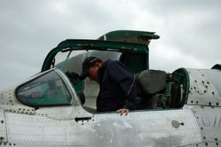Frank nel MiG-21