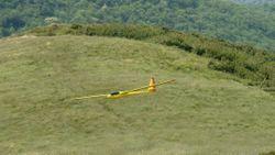 ASW 17 all'atterraggio