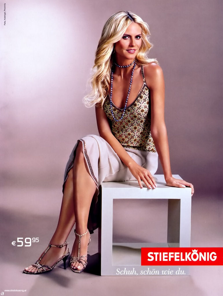 Heidi Klum for Stiefelkonig