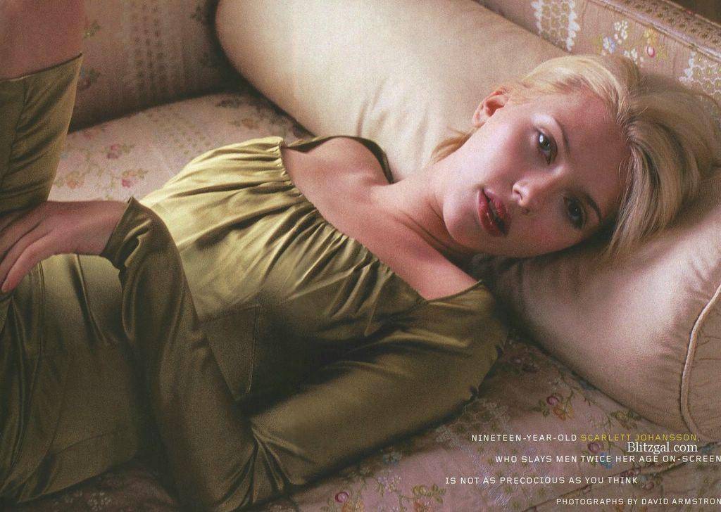 The beautiful Scarlett Johansson