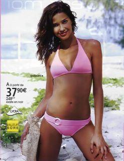 Ana Beatriz Barros - pink bikini