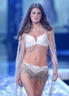 Doutzen Kroes in lingerie at the Victorias Secret Fashion