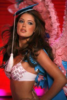 Doutzen Kroes in lingerie at the Victorias Secret Fashion Show