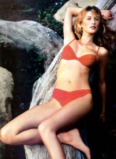 Gisele Bundchen-red bikini