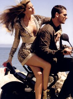 Gisele Bundchen Oct 2006 Vogue