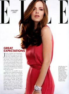 Jennifer Garner in Elle
