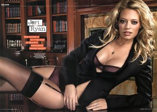 Jeri Ryan in lingerie